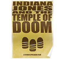 Indiana Jones and The Temple of Doom Poster