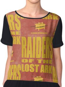 Raiders Of The Lost Ark Chiffon Top
