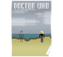 Doctor Who Series 2 8bit Poster Poster