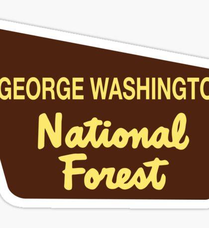 George Washington National Forest Sticker