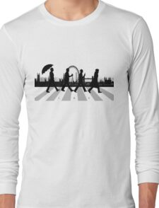 221B Abbey Road (Version Two) Long Sleeve T-Shirt