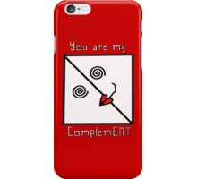 ComplemENT iPhone Case/Skin
