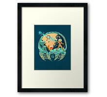In Super Troidicolor [bright] Framed Print