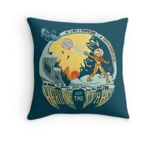 In Super Troidicolor [bright] Throw Pillow