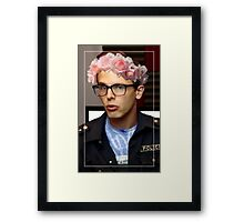 iDubbbzTV Flower Crown Framed Print