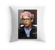 iDubbbzTV Flower Crown Throw Pillow