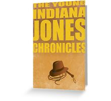 The Young Indiana Jones Chronicles Greeting Card