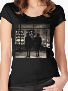 Fight club / last frame (sepia) Women's Fitted Scoop T-Shirt