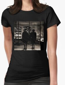 Fight club / last frame (sepia) Womens Fitted T-Shirt