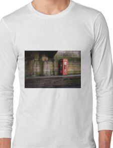 Famous Red Box Long Sleeve T-Shirt
