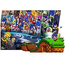 20 Years of Sonic Photographic Print