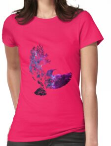the galaxy bird  Womens Fitted T-Shirt