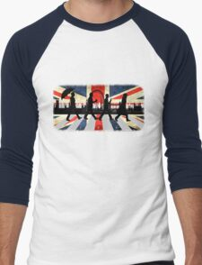 221B Abbey Road (Version One) Men's Baseball ¾ T-Shirt