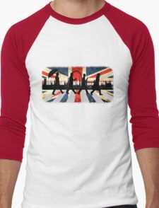 221B Abbey Road (Version One) Men's Baseball ¾ T-Shirt