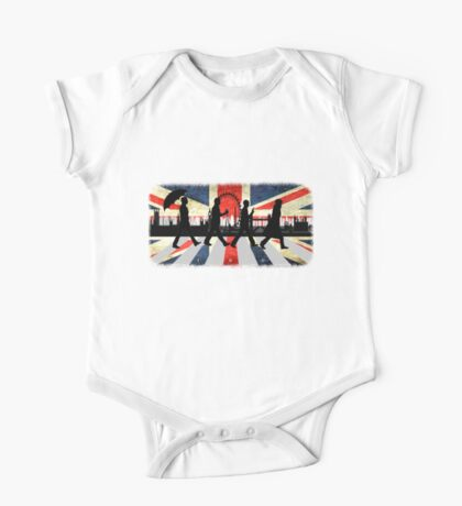 221B Abbey Road (Version One) One Piece - Short Sleeve