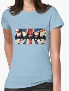 221B Abbey Road (Version One) Womens Fitted T-Shirt