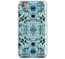 Snow Tunnel Reflections - Meditative Pattern iPhone Case/Skin