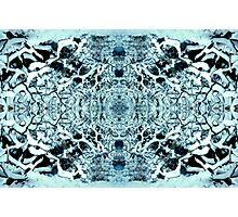 Snow Tunnel Reflections - Meditative Pattern Photographic Print