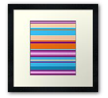 Bold Stripes  Framed Print