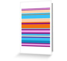 Bold Stripes  Greeting Card
