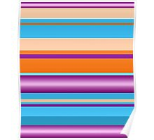 Bold Stripes  Poster
