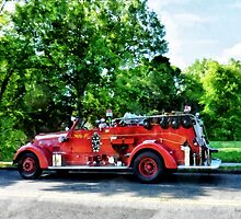 Fire Engine by Susan Savad