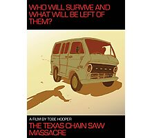The Texas Chain Saw Massacre Photographic Print