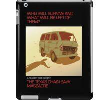 The Texas Chain Saw Massacre iPad Case/Skin