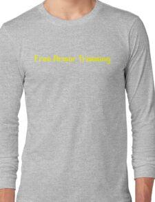 Trimming Long Sleeve T-Shirt