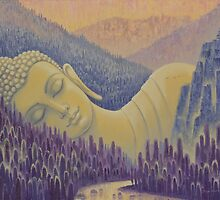 Buddha is everything by Yuliya Glavnaya