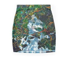 Sea Under Linden Mini Skirt