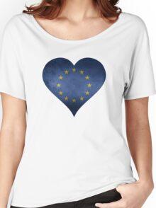 European Heart Women's Relaxed Fit T-Shirt