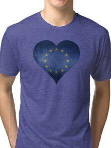 European Heart Tri-blend T-Shirt