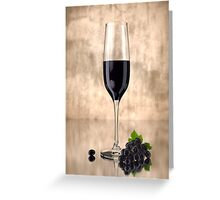 Something to Wine About Greeting Card