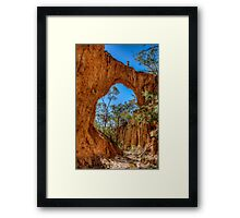 Up on the Golden Arch Framed Print