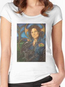 The Nostromo Madonna Women's Fitted Scoop T-Shirt