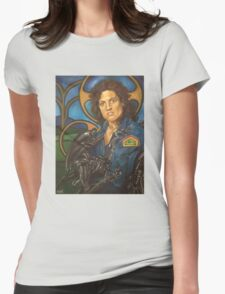 The Nostromo Madonna Womens Fitted T-Shirt
