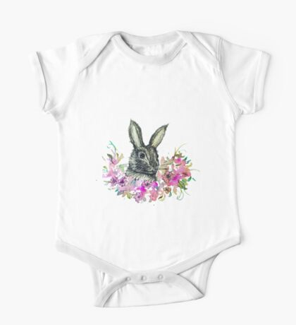 Herbert Bunny One Piece - Short Sleeve
