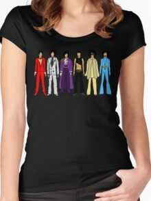 Retro Vintage Fashion 16 Women's Fitted Scoop T-Shirt