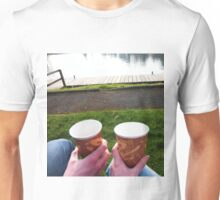 Mr and Mrs Tea by the Lough Unisex T-Shirt