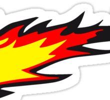 Feuer flamme feuerball agro  Sticker