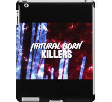 NATURAL BORN KILLERS - logo iPad Case/Skin