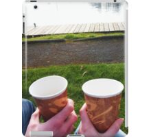Mr and Mrs Tea by the Lough iPad Case/Skin