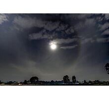 Moon Halo Photographic Print