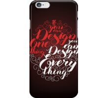 If you can design one thing.. iPhone Case/Skin