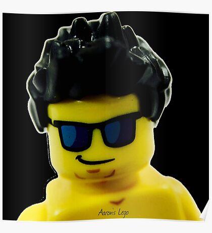 Aaron's Lego Lego Me Poster