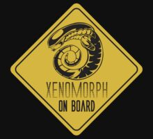 Xenomorph On Board by IsonimusXXIII