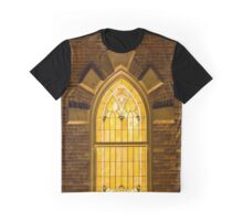 Provo City Center Temple Stainglass Window - Utah Graphic T-Shirt