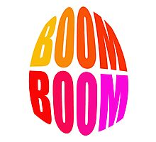 BOOM-BOOM - products Photographic Print