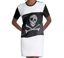 Jolly Roger  Graphic T-Shirt Dress